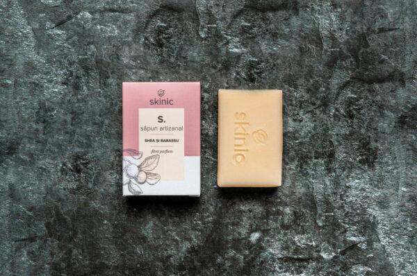 Sapun natural hipoalergenic fara parfum pentru bebelusi SKINIC.